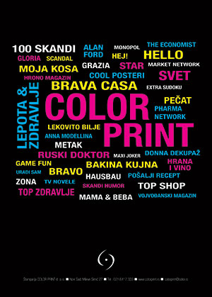 Color Print - Vojvodjanski magazin